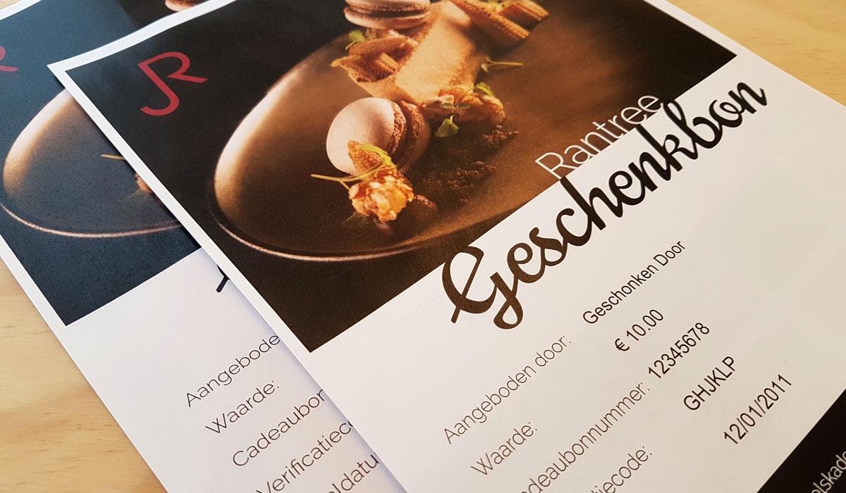 grafisch ontwerp Restaurant Rantree Maastricht