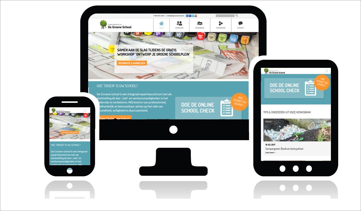 Website ontwerp en onwtikkeling